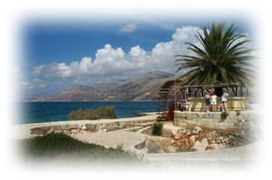 This is Katavothres Kefalonia easily visited with our car hire