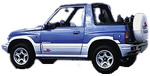 Suzuki Vitara 4x4 Open-Top Car Hire